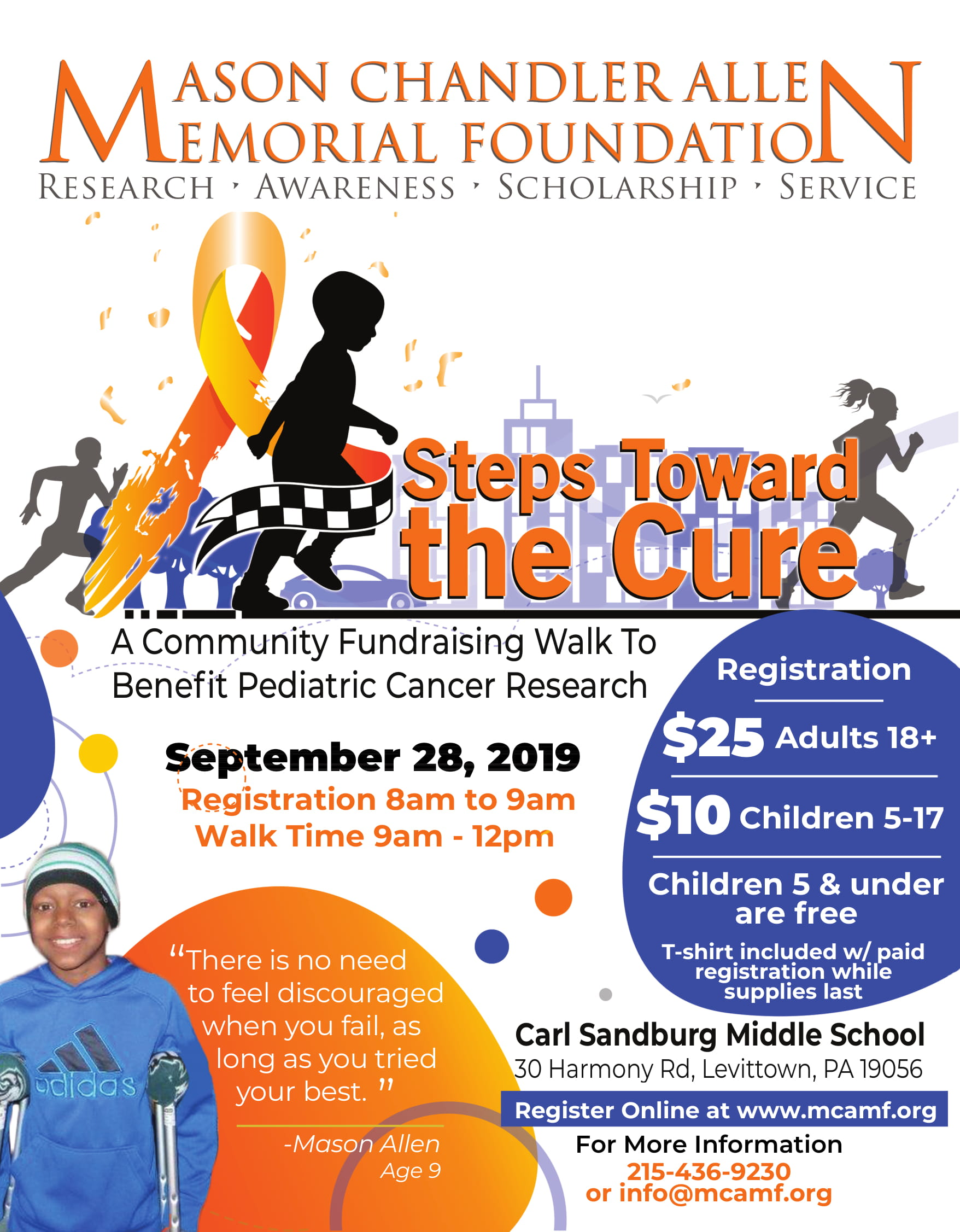 Steps Toward The Cure 2019 Flyer-1